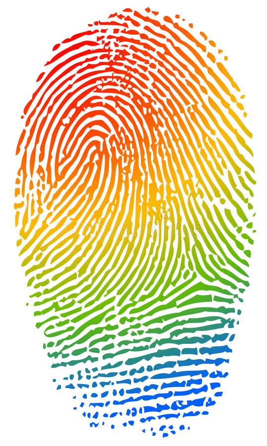 Free Color Fingerprint Stock Images - 83373804