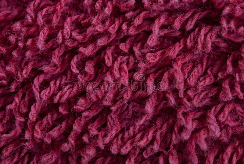 color fleecy red för tyg arkivbilder