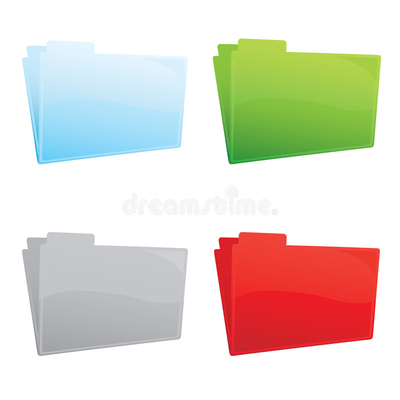 Free Color Folders Stock Images - 8575784