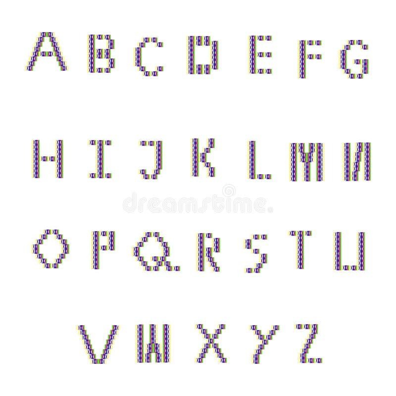 Color font stock photos