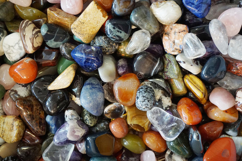 Color gems mineral collection. As nice natural background stock image