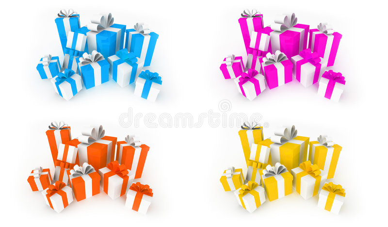 Download Color Gifts Royalty Free Stock Images - Image: 7219999