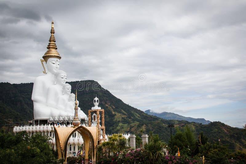 Color grande del blanco de Buda imagenes de archivo