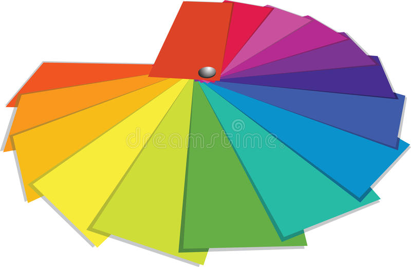Download Color guide stock vector. Illustration of image, pantone - 13486865