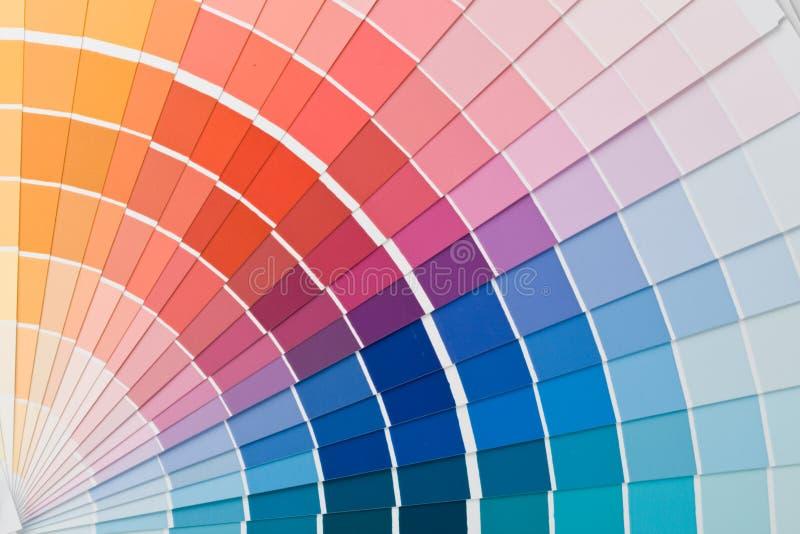 Color guide. stock photo