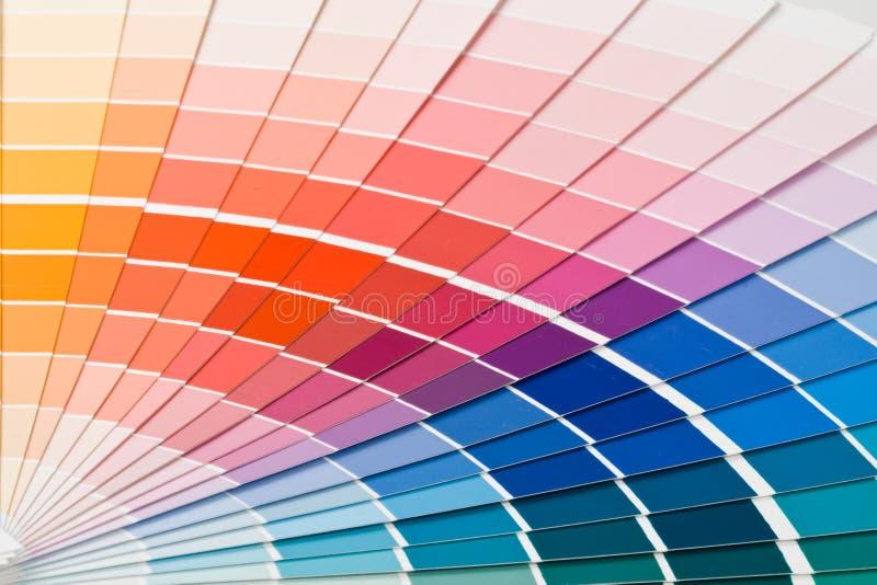 Color guide. stock photos