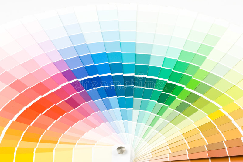 Download Color guide. stock photo. Image of choice, accuracy, matching - 6648148