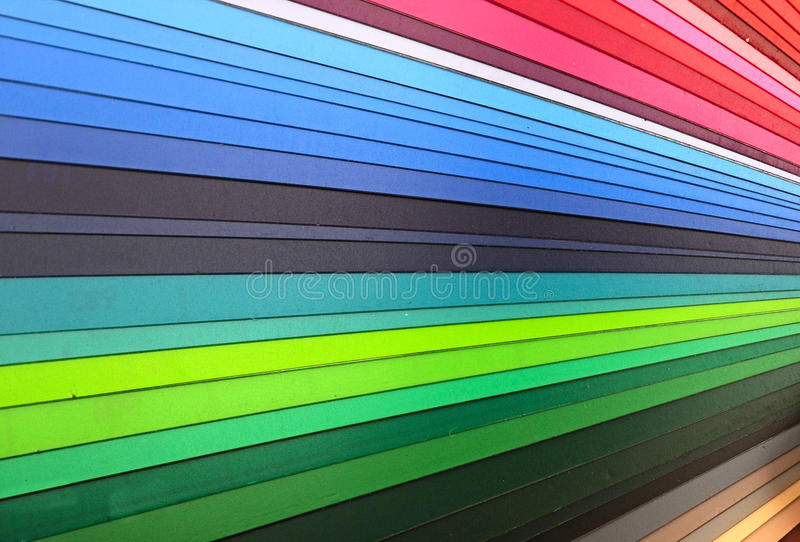Color guide closeup royalty free stock photography