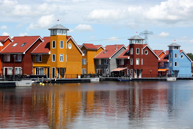 Download Color Houses Royalty Free Stock Images - Image: 25643399