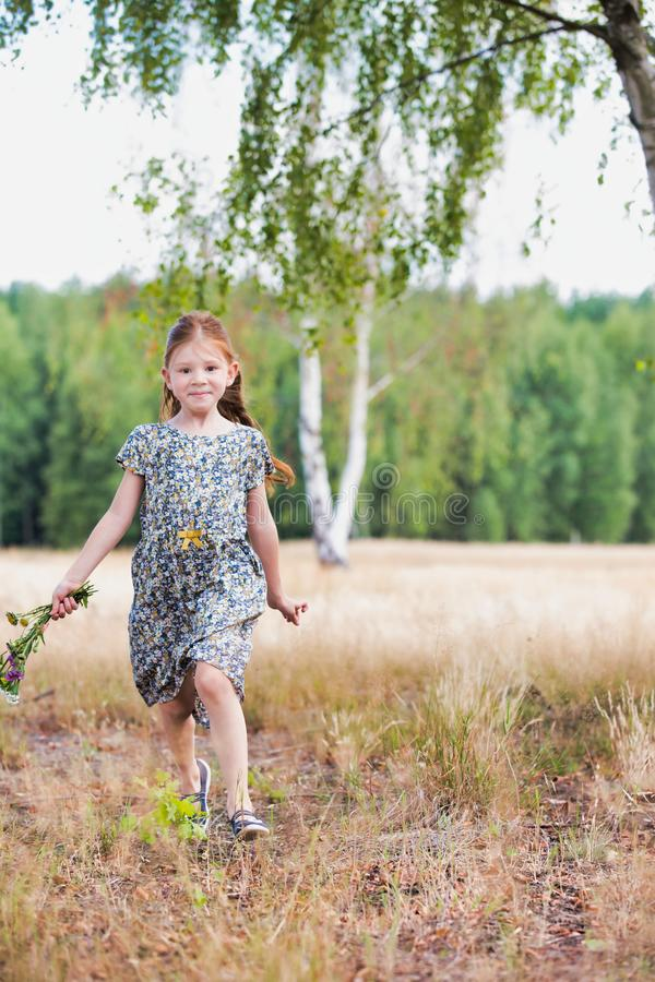 Color, image, photography, caucasian, ethnicity, person, people, creative, most, downloaded, best, seller, business, day. Photo of Little girl skipping or stock images
