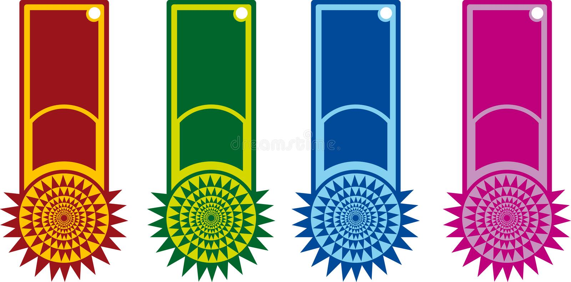 Color Label stock illustration