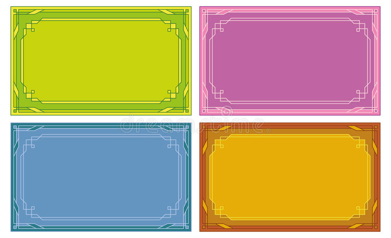 Download Color Labels, Tags, Cards, Set Stock Vector - Image: 22343453