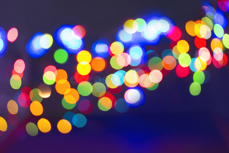 Color light blurred stock images