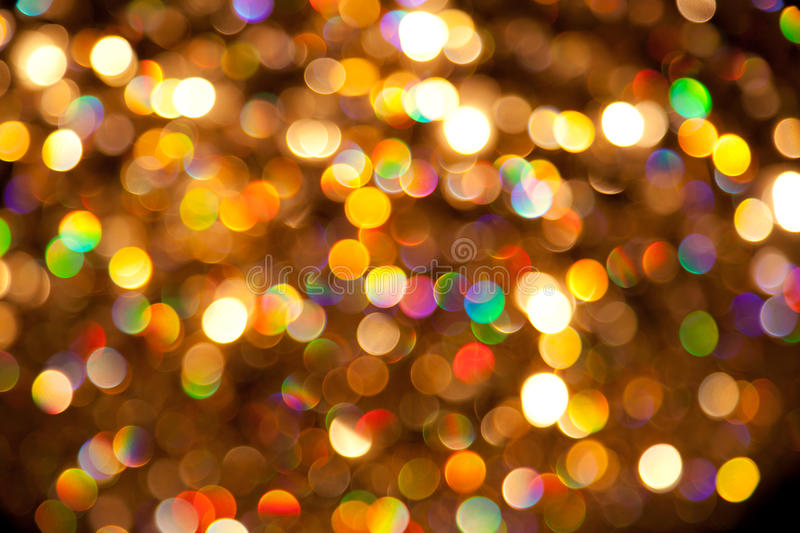 Color Lights Background. A colourful background of bright lights stock image