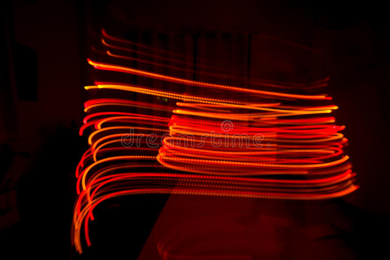 Color line`s blurred Bokeh color background stock images