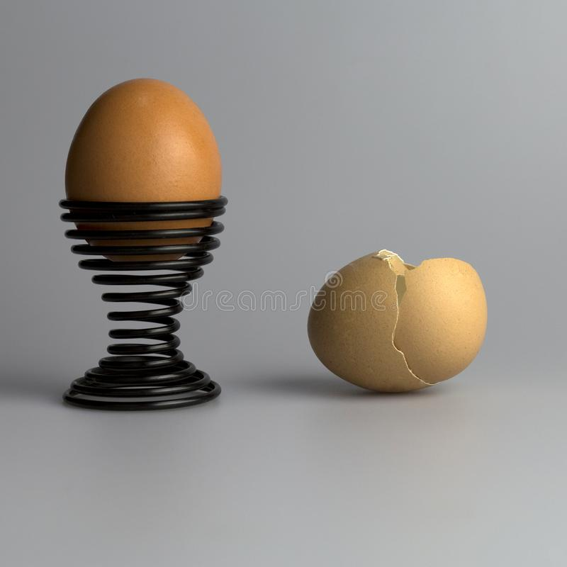 Macro Color photography of eggs royalty free stock photos