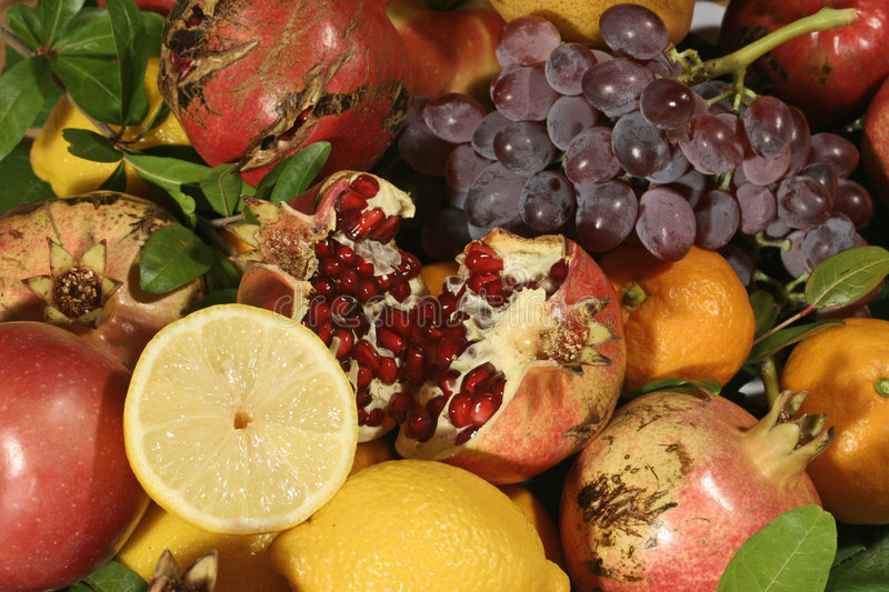 Color of mediterranean fruit royalty free stock photography