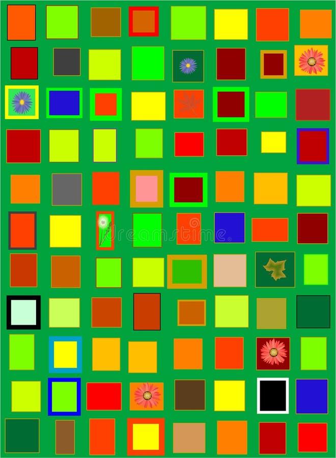 color mer stock illustrationer
