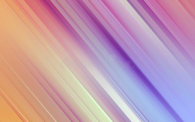Color mezclado púrpura del movimiento del modelo de la velocidad stock de ilustración