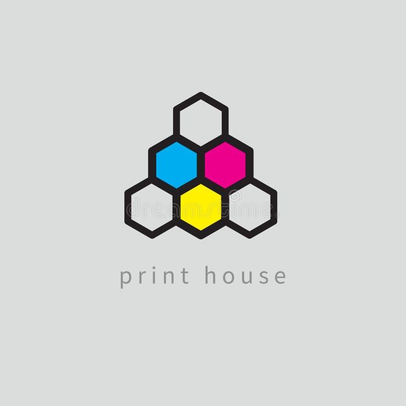 Color model, honeycomb stock illustration