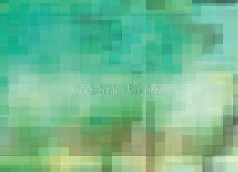 -color Mosaic Stock Photo