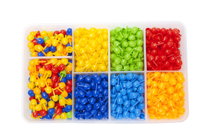 Download Color mosaic into the box stock image. Image of game - 23437673