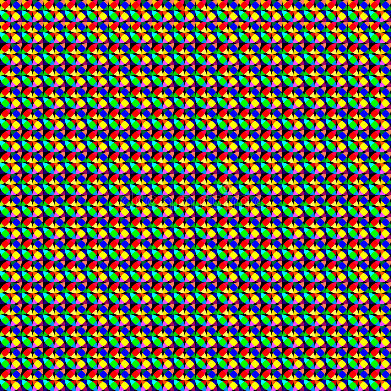 Color mosaic pattern stock images