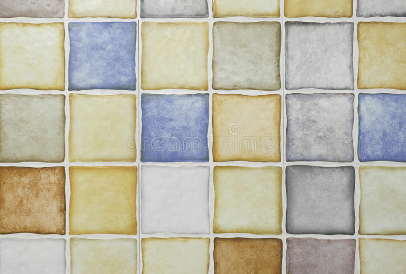 COLOR MOSAICS stock image