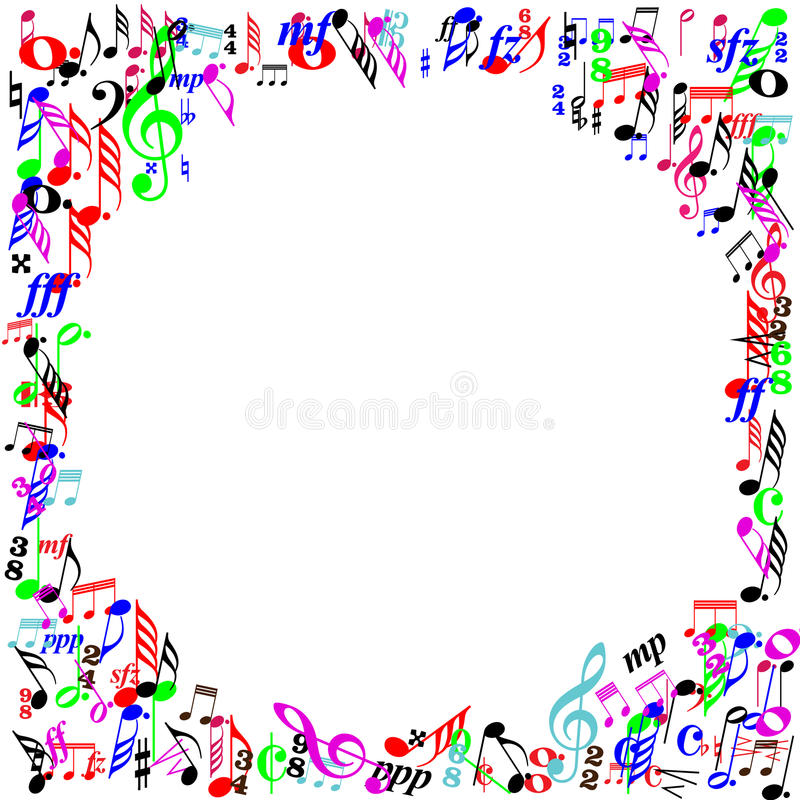 decorative landscape borders stamped concrete patterns Guitar Vector Tornado Vector Musical Notes