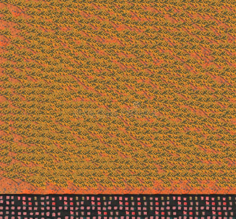 Color naranja texturado Color abstracto de color de agua paño degradado fondo fotografía de archivo libre de regalías
