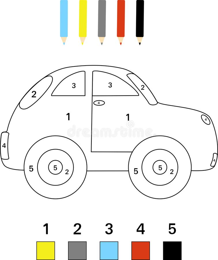 Colouring Car Stock Illustrations – 774 Colouring Car Stock Illustrations,  Vectors & Clipart - Dreamstime