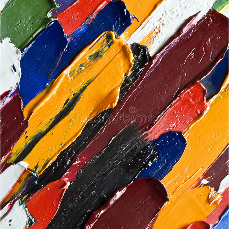 Free Color Oil Paint As Background Stock Photos - 32850963