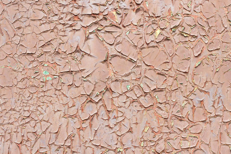 Color paint peeling off texture royalty free stock photography
