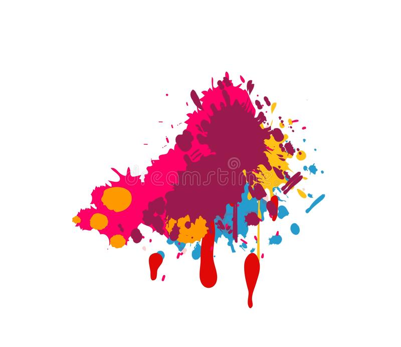 Abstract colors stock illustration