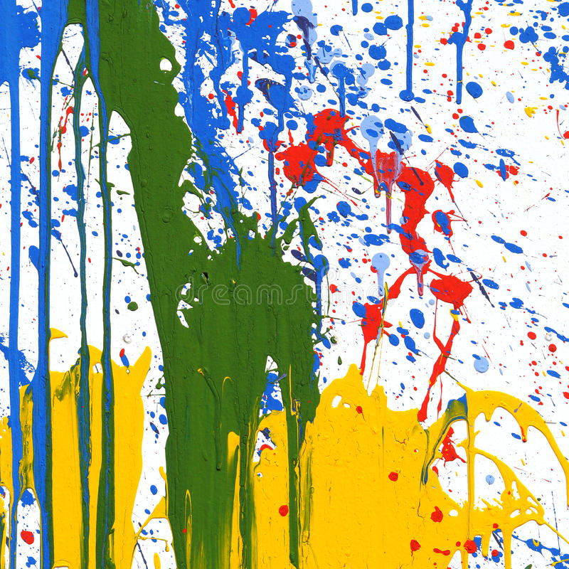 Color Painting stock photo