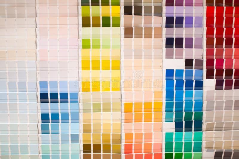 Color palette stock image
