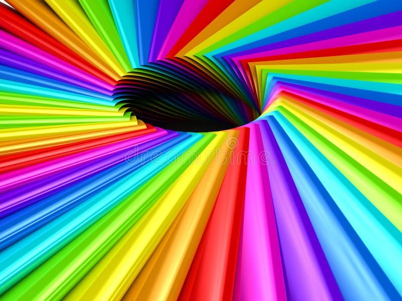 Color Palette Over Background Stock Illustration ...