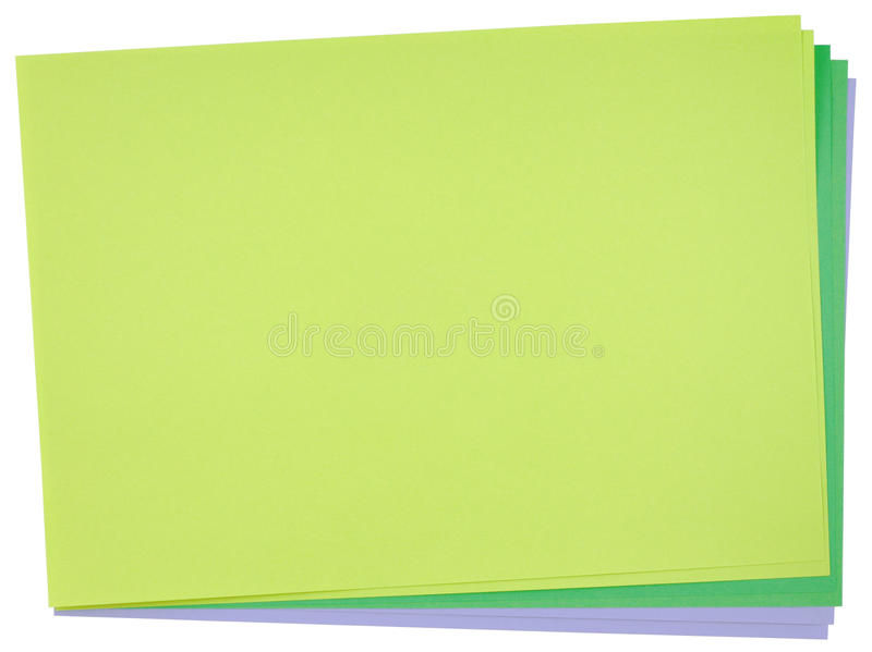 Download Color paper stock photo. Image of disorderly, green, pure - 39509958