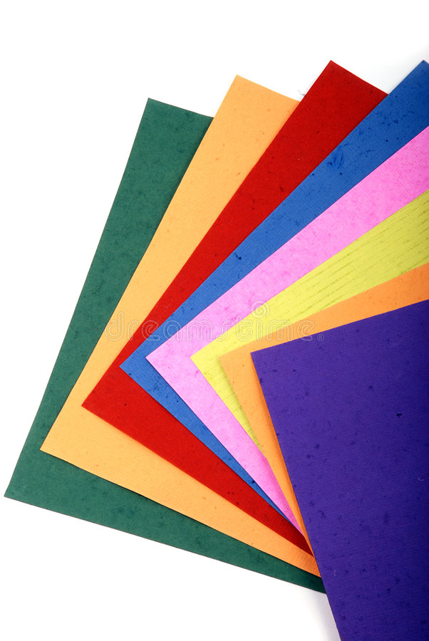 download color papers stock images image 8507904
