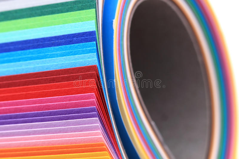 Color papers as nice background. Color papers as nice very easy background stock images