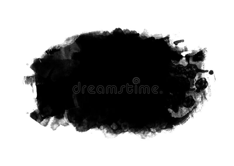 Color patches graphic brush strokes design effect element for ba. Black graphic color patches brush strokes effect background designs element stock images