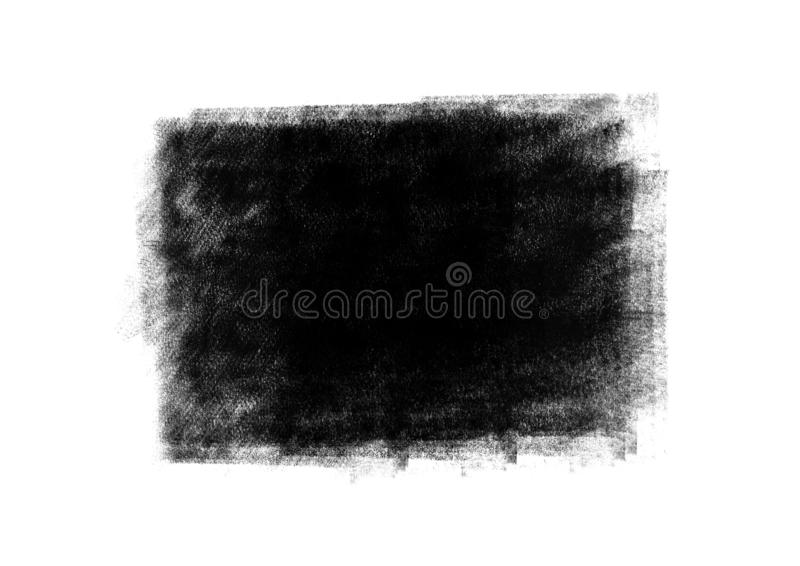 Color patches graphic brush strokes design effect element for ba. Black graphic color patches brush strokes effect background designs element royalty free stock image