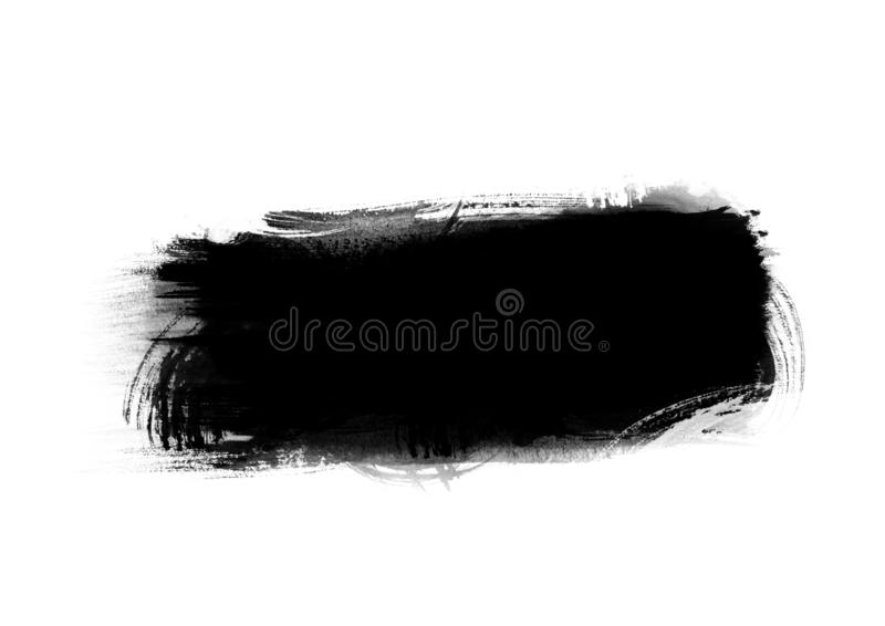 Color patches graphic brush strokes design effect element for ba. Black graphic color patches brush strokes effect background designs element stock image