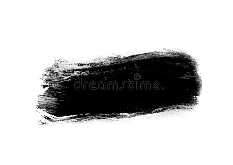 Color patches graphic brush strokes design effect element for ba. Black graphic color patches brush strokes effect background designs element royalty free stock photography