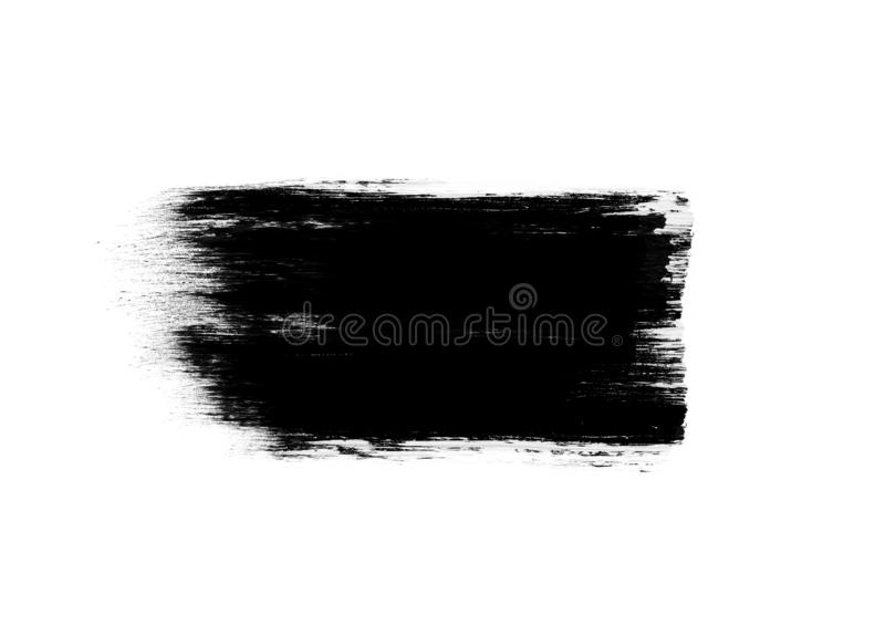 Color patches graphic brush strokes design effect element for background. Black graphic color patches brush strokes effect background designs element stock images