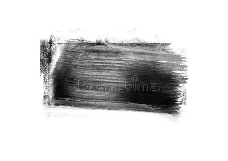 Color patches graphic brush strokes design effect element for background. Black graphic color patches brush strokes effect background designs element royalty free stock images