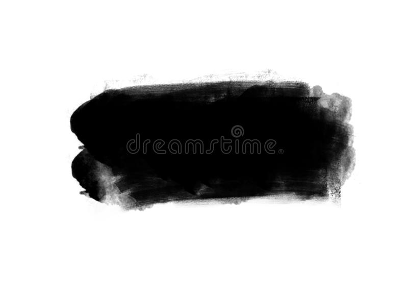Color patches graphic brush strokes design effect element for background. Black graphic color patches brush strokes effect background designs element stock photos