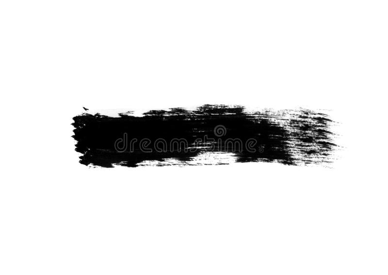 Color patches graphic brush strokes design effect element for background. Black graphic color patches brush strokes effect background designs element royalty free stock photography