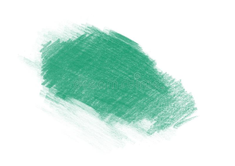 Color patches graphic brush strokes design effect element for background. Green graphic color patches brush strokes effect background designs element stock illustration