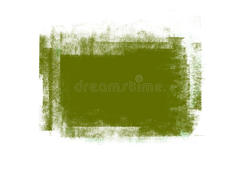 Color patches graphic brush strokes design effect element for background. Green graphic color patches brush strokes effect background designs element stock photo